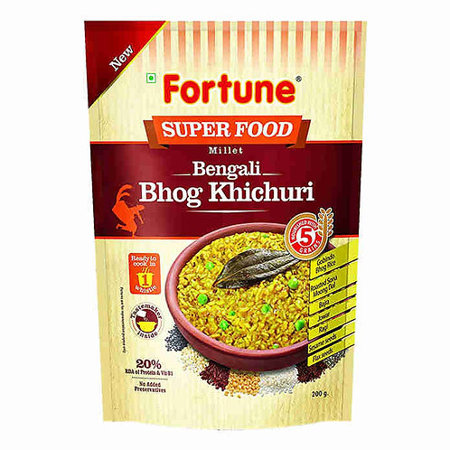 Fortune Super Food Bengali Khichdi : 200 gms