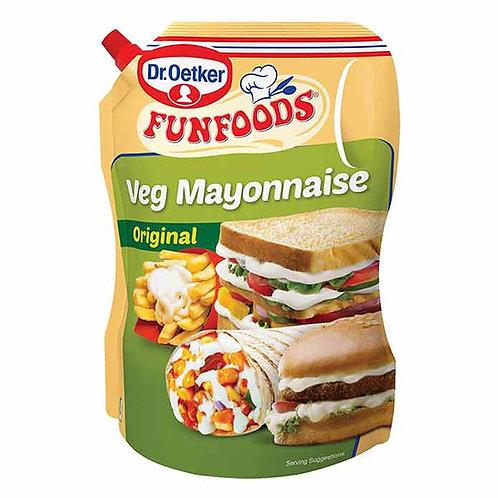 Funfoods Veg Mayonnaise Original : 1.2 kgs