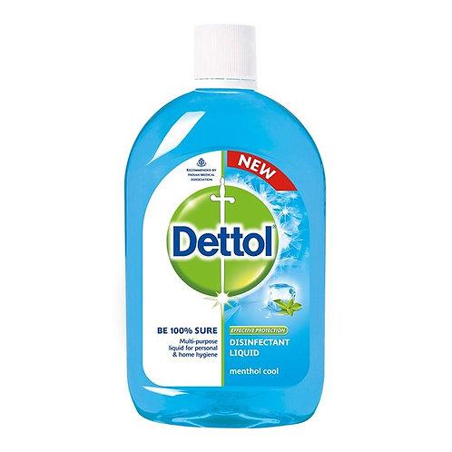 Dettol Menthol Cool Disinfectant Liquid : 500 ml