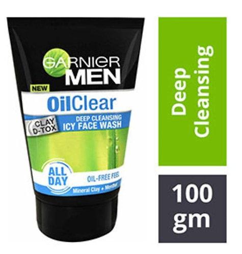 Garnier Man Oil-Clear Deep Cleansing Face wash 100mg