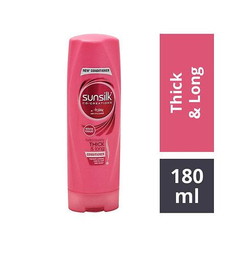Sunsilk Lusciously Thick & Long Nourishing Conditioner: 180 ml