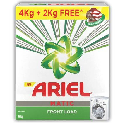 Ariel Matic Front Load Detergent Powder 4 kg