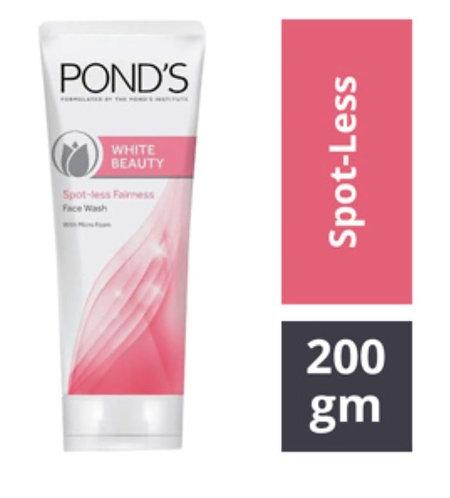 pond's white beauty sport-less fairness face wash 200gm