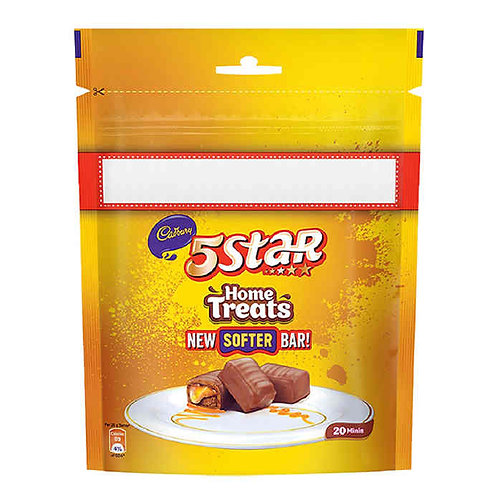 Cadbury 5 Star Home Treat Chocolate : 200 gms
