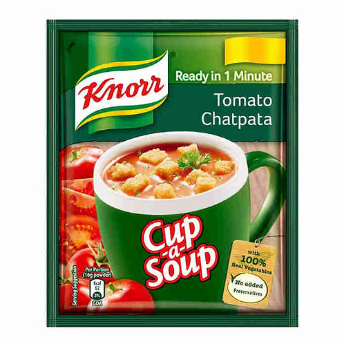 Knorr Instant Tomato Chatpata Cup A Soup : 14 gms