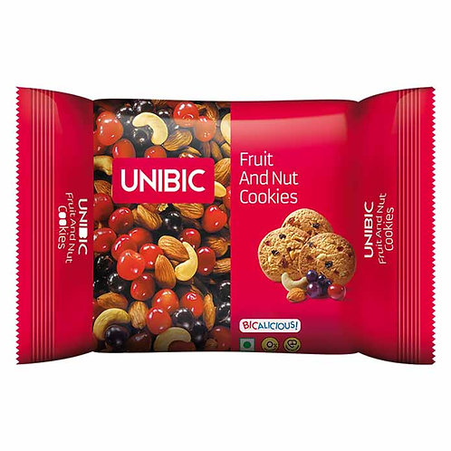 Unibic Fruit & Nut Cookies : 150 gms