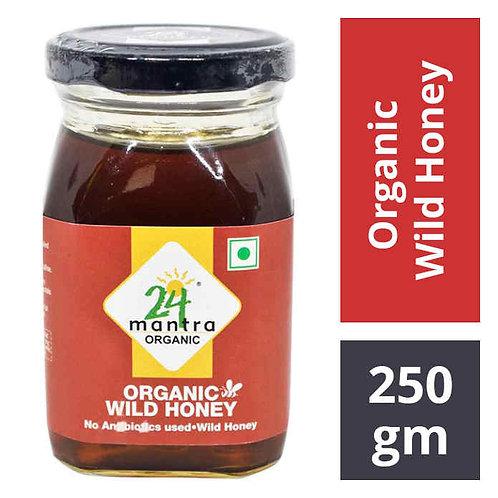 24 Mantra Organic Wild Honey : 250 gms