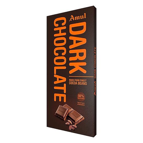 Amul Dark Chocolate : 150 gms