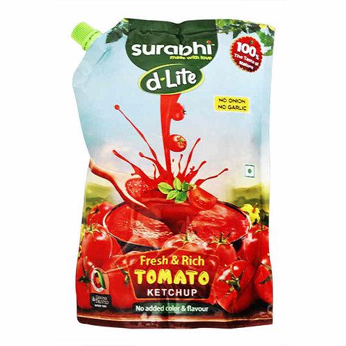 Surabhi Fresh & Rich Tomato Ketchup - No Onion No Garlic : 900 gms
