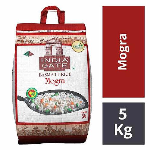 India Gate Basmati Rice - Mogra : 5 kgs