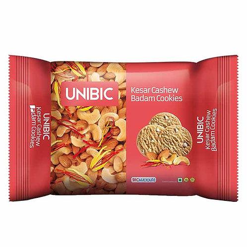 Unibic Kesar Cashew Badam Cookies : 200 gms
