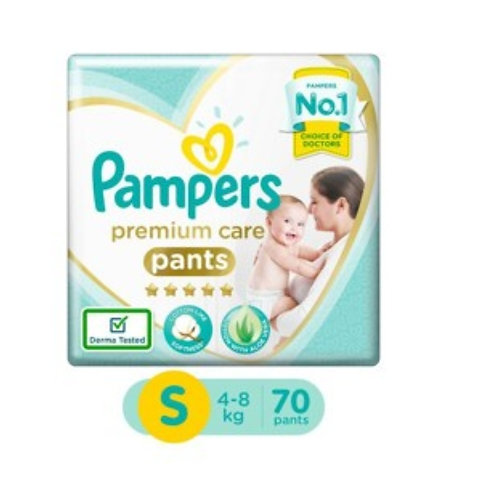 Pampers Premium Care Pants - Small : 70 U
