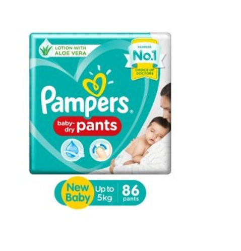 Pampers Baby - Dry Pants - New Baby : 86U