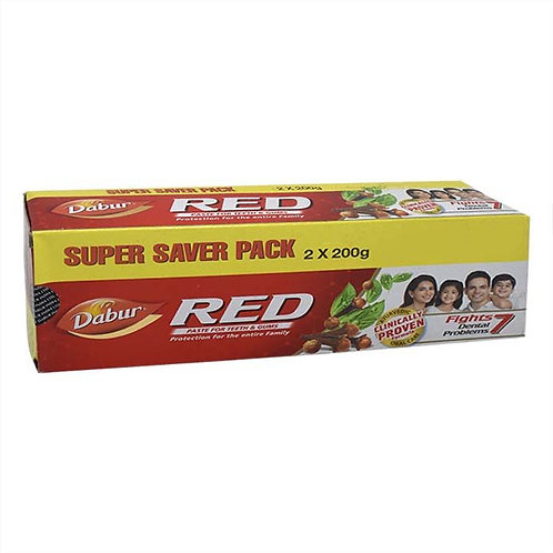 Dabur Red Toothpaste : 2x200 gms