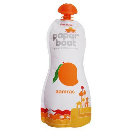 Paper Boat Aamras Mango Drink 250 ml (Pouch)