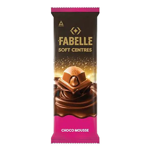 Fabelle Choco Mousse Soft Centres Chocolate : 58 gms