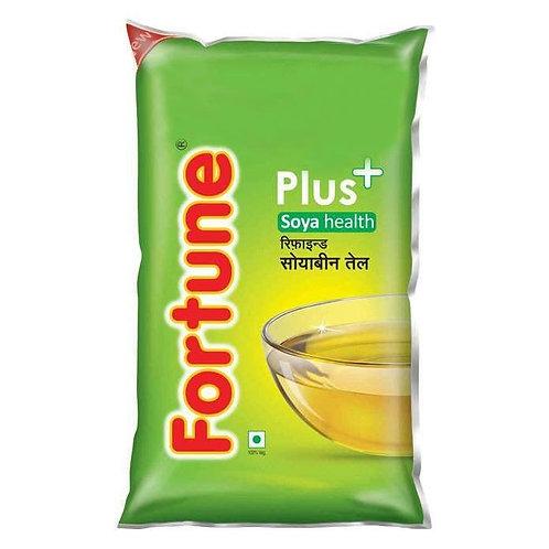 Fortune Plus Soya Health Oil : 1 Litre