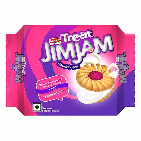 Britannia Treat Jim-Jam Cream Biscuits : 150 gms