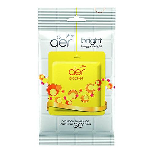 Godrej Aer Bathroom Fragrance - Bright Tangy Delight : 10 gms