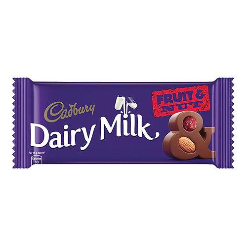 Cadbury Dairy Milk Fruit & Nut Chocolate : 80 gms