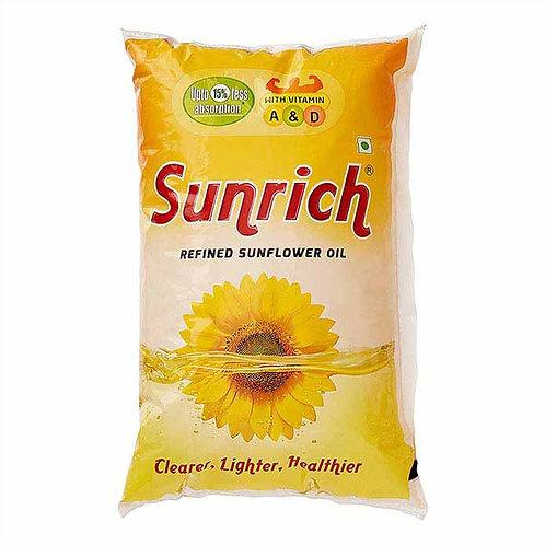 Sunrich Refined Sunflower Oil : 1 Litre