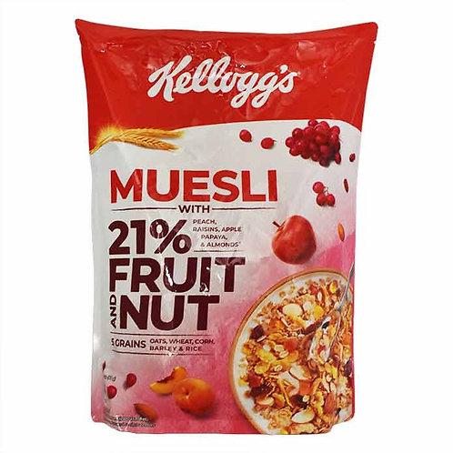 Kellogg's Crunchy Muesli Fruit And Nut : 750 gms