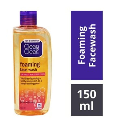 Clean & Clear Foaming Face Wash 150 ml