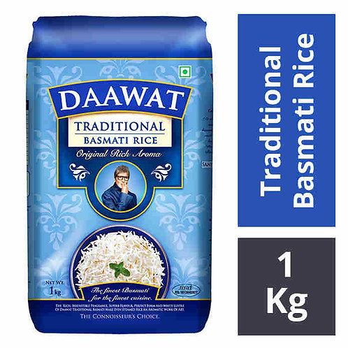 Daawat Traditional Basmati Rice : 1 kg