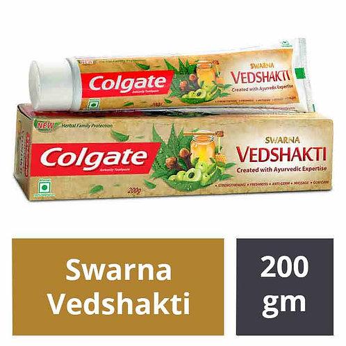 Colgate Swarna Vedshakti Toothpaste : 200 gms