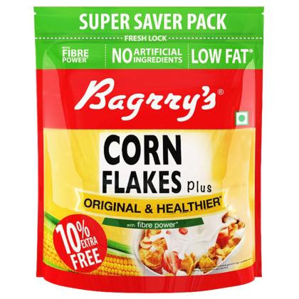 Bagrry's Original & Healthier Cornflakes Plus 880 g