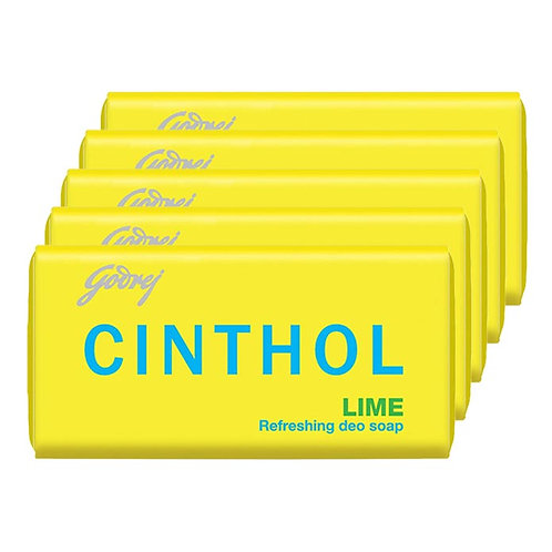 Cinthol Lime Refreshing Deo Soap : 4x100 gms