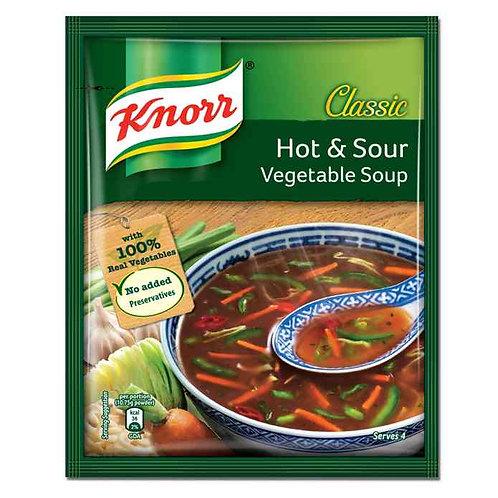 Knorr Classic Hot & Sour Veg Soup : 43 gms