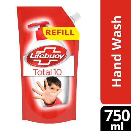 Lifebuoy Total 10 Handwash Refill 750 ml
