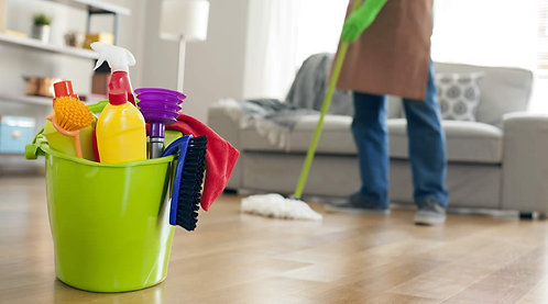 Home cleaning 2 bhk / one time