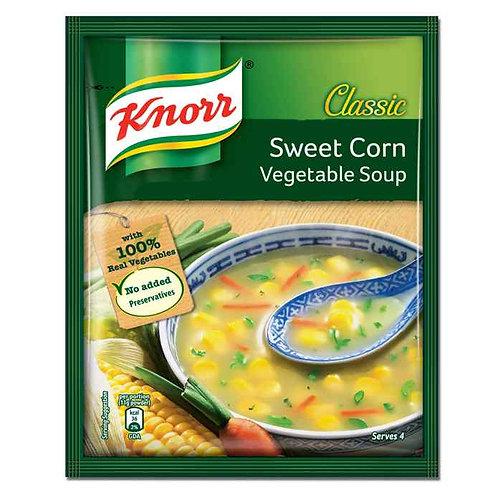 Knorr Classic Sweet Corn Veg Soup : 44 gms