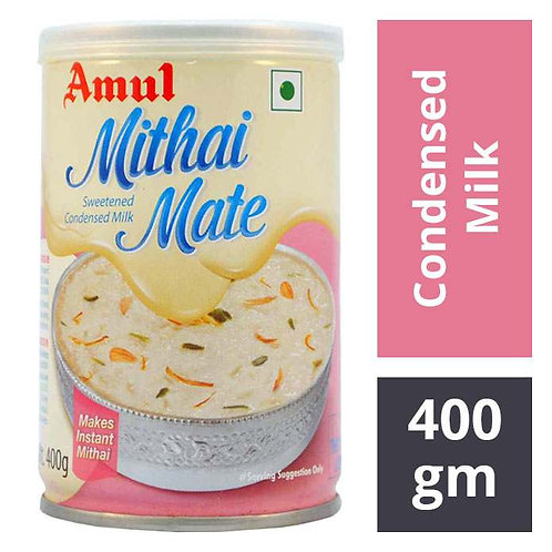 Amul Mithai Mate Sweetened Condensed Milk : 400 gms