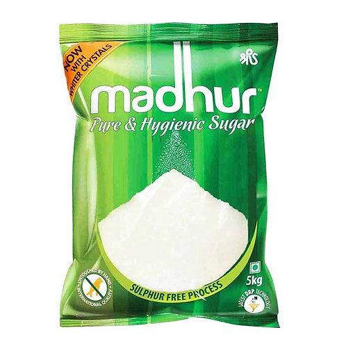 Madhur Pure & Hygienic Sugar (M) : 5 kgs