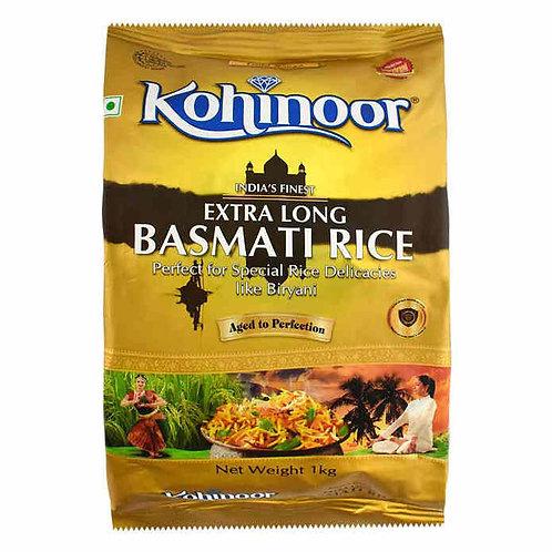 Kohinoor Extra Long Basmati Rice - Gold : 1 kg