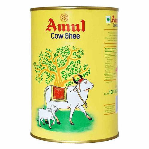 Amul Cow Ghee Tin : 1 Litre