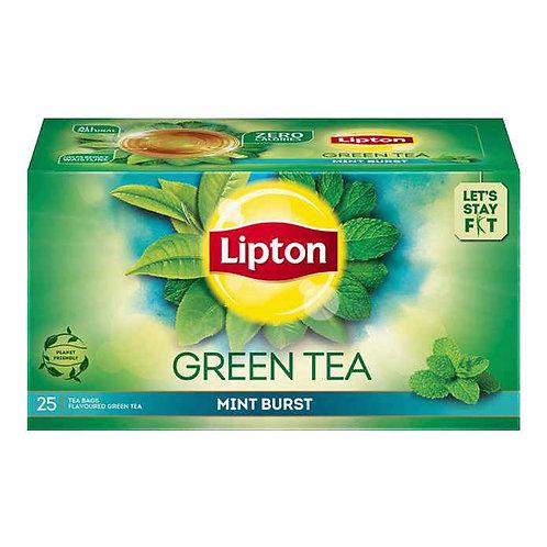 Lipton Green Tea - Mint Burst : 25 Tea-Bags