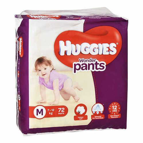 Huggies Wonder Pants - Medium : 72 U