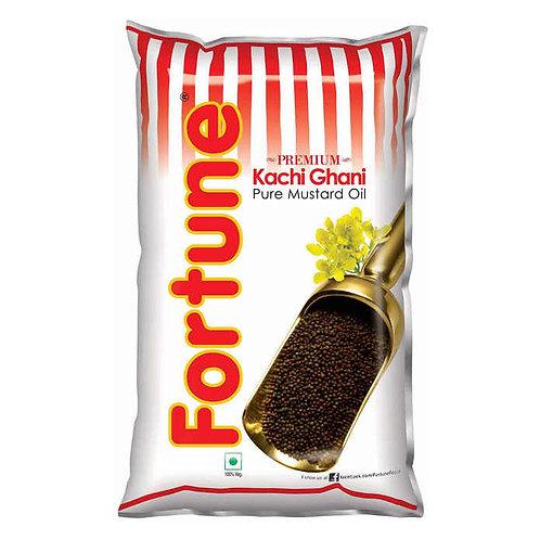 Fortune Kachi Ghani Mustard Oil : 1 Litre