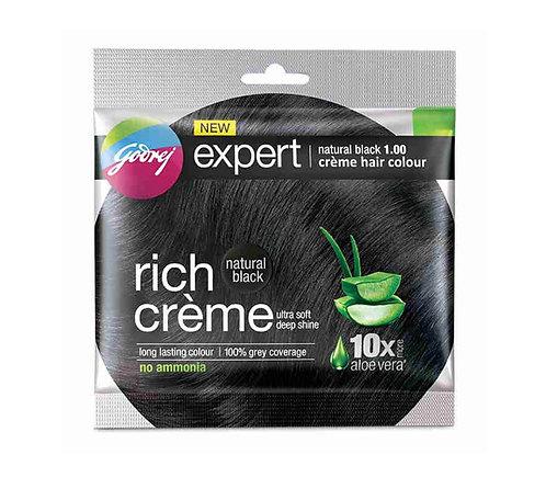 Godhrej Expert Rich Creme Black 1 Hair Colour : 20gms
