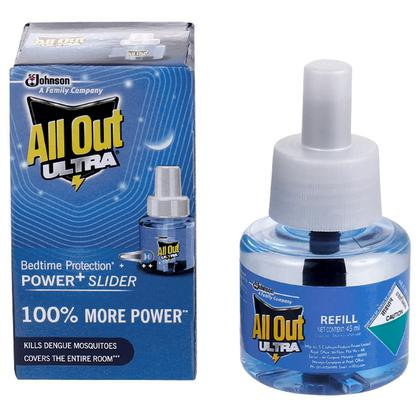 All Out Ultra Power+ Slider Mosquito Repellent Refill 45 ml