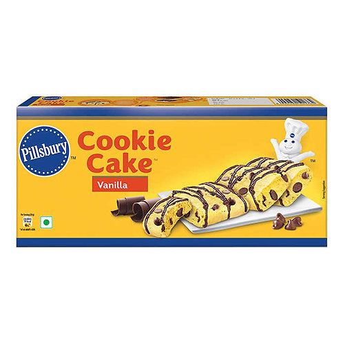 Pillsbury Cookie Cake Vanilla - 6 Pieces : 120 gms