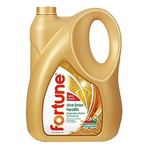 Fortune Rice Bran Health Oil : 5 Litres