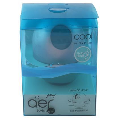 Godrej Aer Twist Cool Surf Blue Car Freshener Gel 45 g