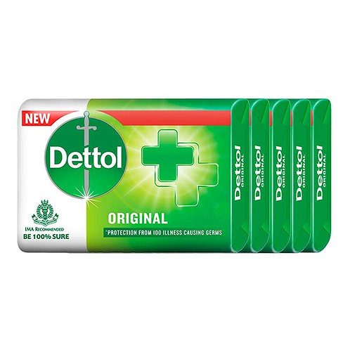 Dettol Original Soap : 4x125 gms