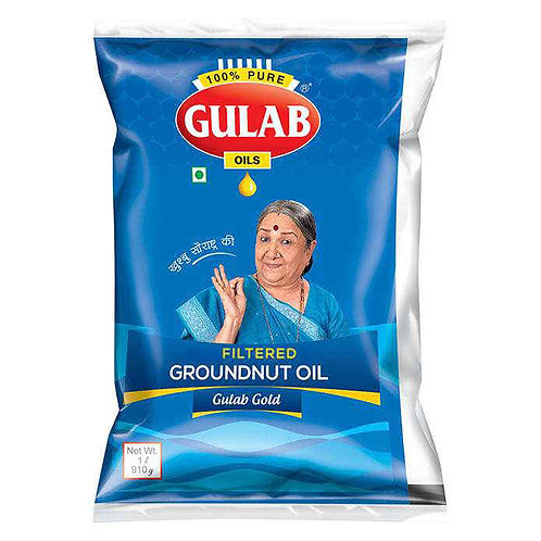 Gulab Filtered Groundnut Oil : 1 Litre