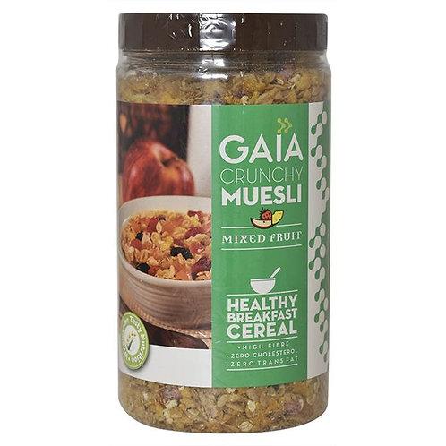 Gaia Crunchy Muesli Mixed Fruit : 1 kg